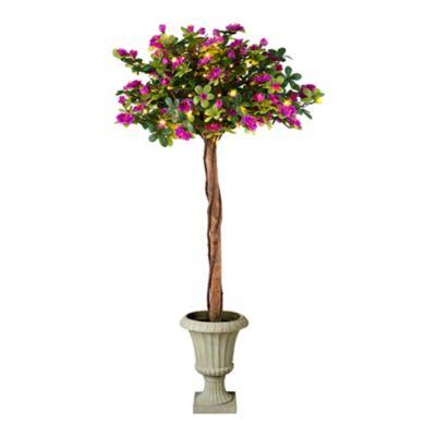 "Pre-Lit Azalea Topiary-36"""