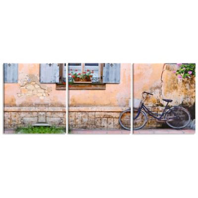 French Countryside Triptych Canvas Print-Set of 3