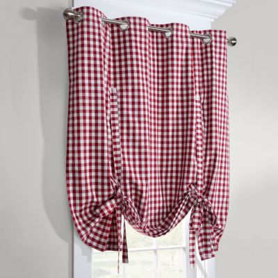 Gingham Check Thermal Tie-Up Shade-63""