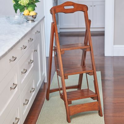 Lowell 3-Step Folding Stool
