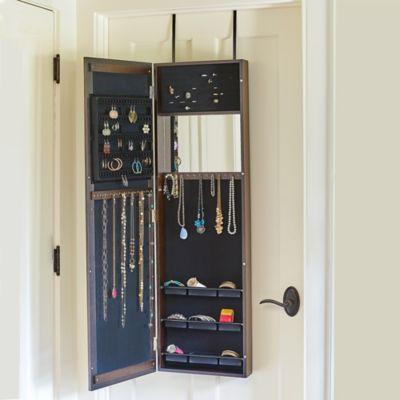 Mirrored Over-the-Door Armoire