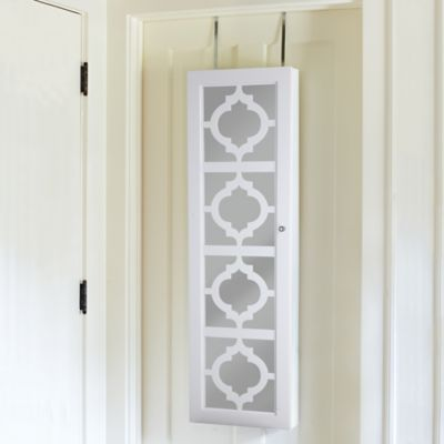 Moroccan Decorative Over-the-Door Jewelry Armoire