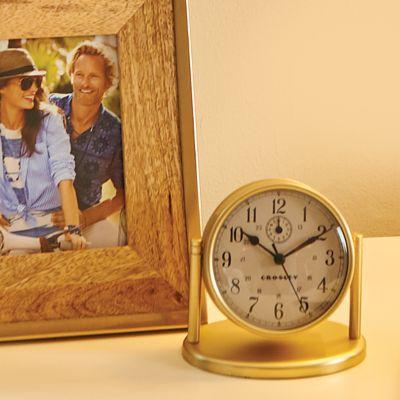 Crosley Tabletop Alarm Clock