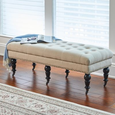 Isabella Tufted Bench