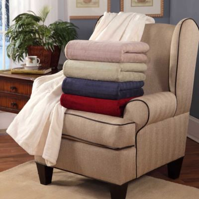 Soft Heat Plush Triple Rib Throw