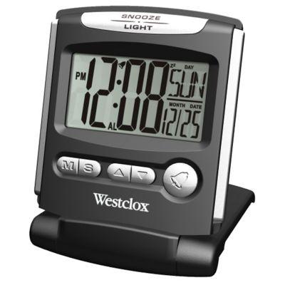 Westclox Slim Digital Travel Alarm Clock