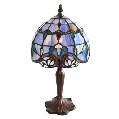 Stained Glass Accent Table Lamp