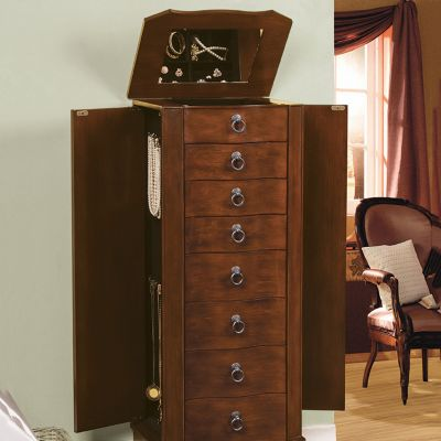 Victoria 7 Drawer Jewelry Armoire