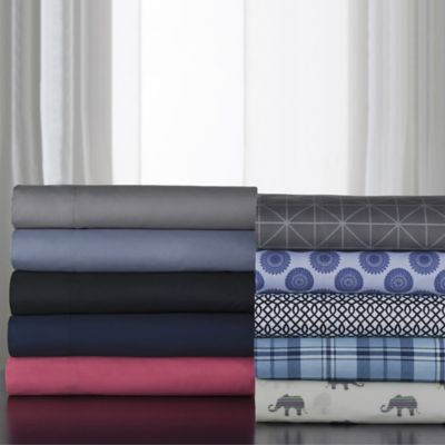 Print & Solid Microfiber Sheet Sets