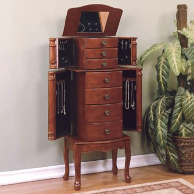 Classic Cherry Jewelry Armoire