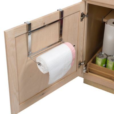 Over-the-Cabinet Door Garbage Bag Holder