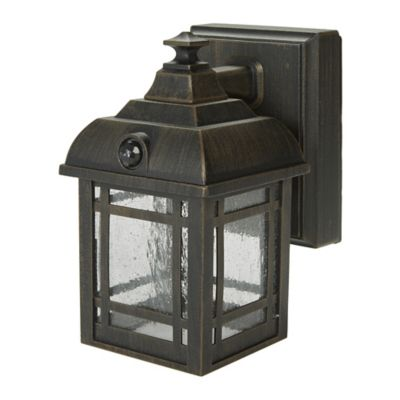 LED Craftsman Style Porch Light
