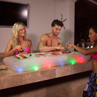 LED Illuminated Buffet Cooler