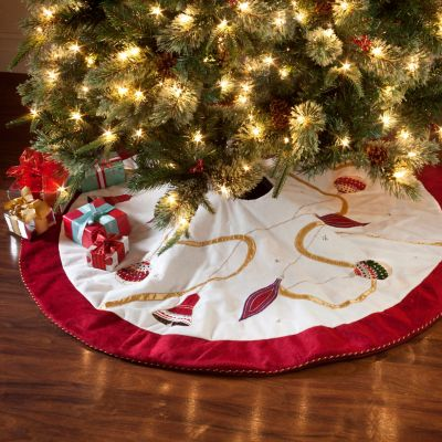 Ornament Christmas Tree Skirt