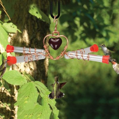 4 Tube Hummingbird Feeder