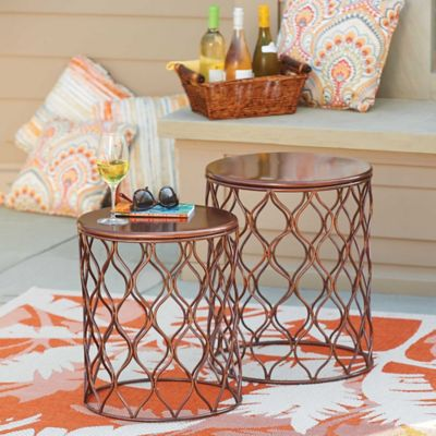 Taza Metal Garden Tables