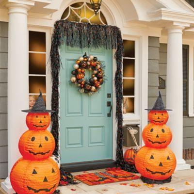 Spooky Black Halloween Garland