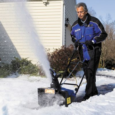 Electric Snow Thrower and Cover