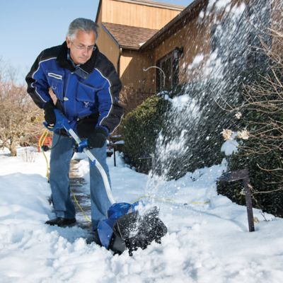 Electric Snow Shovel and Cover