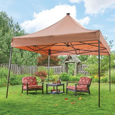 10' Solar Lighted Gazebo