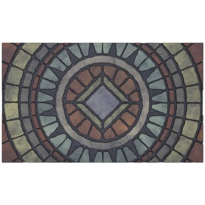 Compass Stone Outdoor Rubber Door Mat