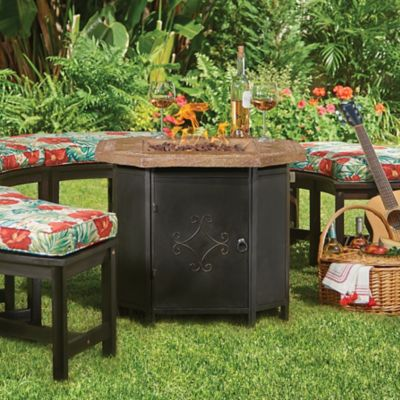 Mesa Square Propane Fire Pit Table