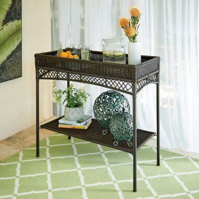 Baja Outdoor Patio Serving Table