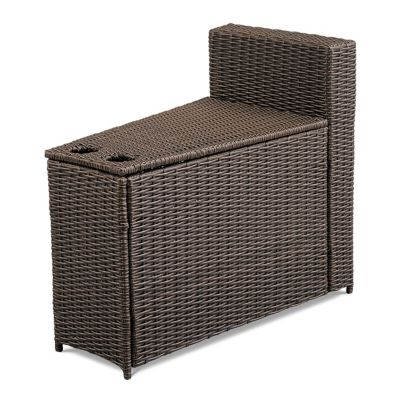 Marbella Curved Sectional Outdoor Side Table