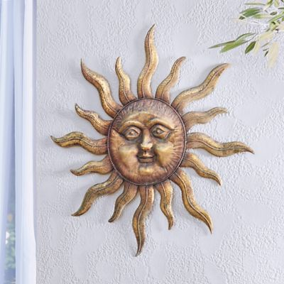 INCA Metal Sunface Wall Decor