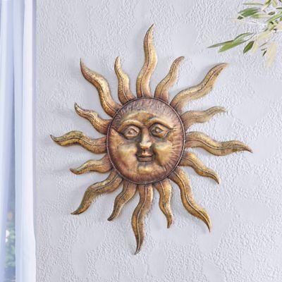 INCA Metal Sunface Wall Decor
