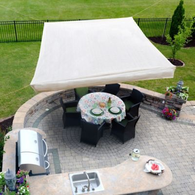 10' Square Gazebo Shade Sail