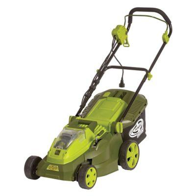 Hybrid Cordless Electric Lawn Mower