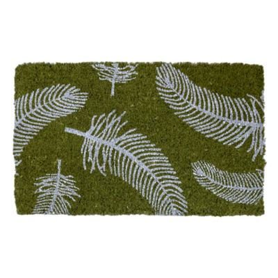 "Feathers Coir Door Mat-18"" x 30"""