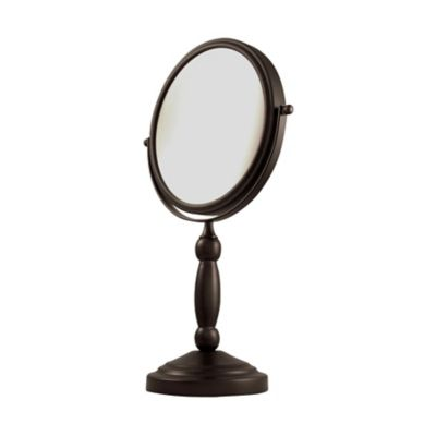 Dual Sided Vanity Swivel Mirror-1X/10X