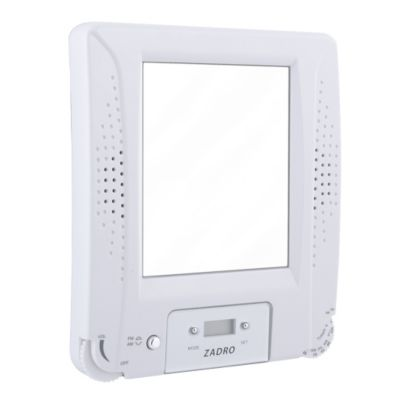 Fog Free Mirror with Shower Radio