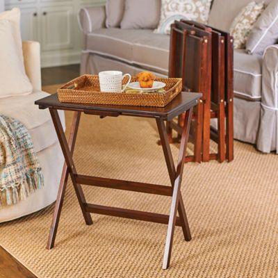 Stevens Oversized Tray Tables-Set of 4
