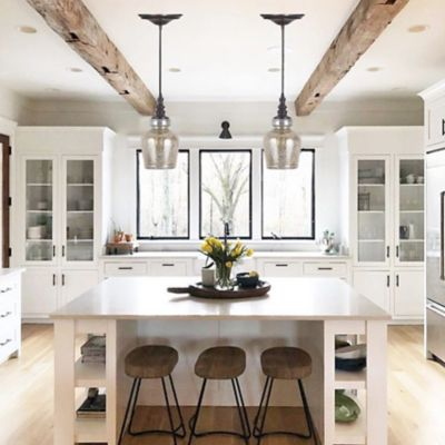 Instant Pendant Light with Mercury Glass Shade