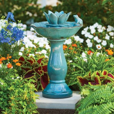 Ceramic Frog Outdoor Fountain