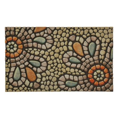 Bohemian Pebble Outdoor Rubber Door Mat