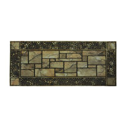 Patio Stones Outdoor Rubber Door Mat