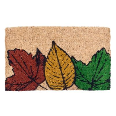 Fallen Leaves Coir Door Mat