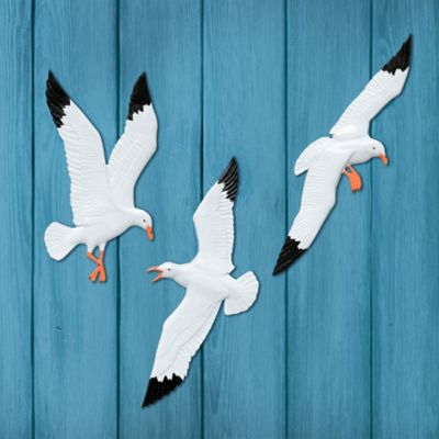 Seagull Wall Decor-Set of 3