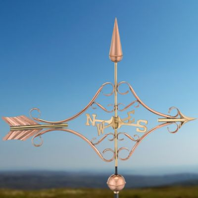 Victorian Arrow Copper Weathervane