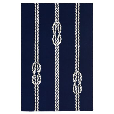 Nautical Knot Ropes Outdoor Rugs