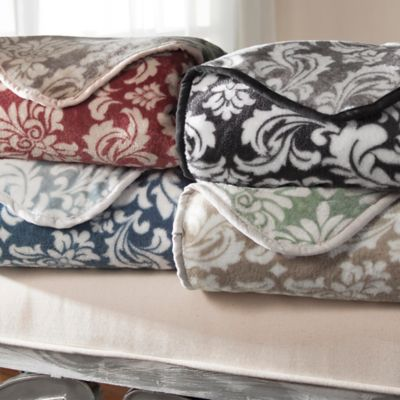 Canterbury Plush Reversible Blankets