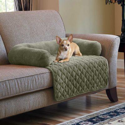 Waterproof Bolster Pillow Pet Furniture Cover