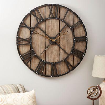 Roman Numeral Vintage Wall Clock