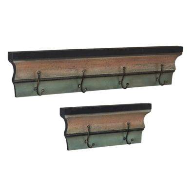 Rustic Decorative Wall Hooks-Set of 2