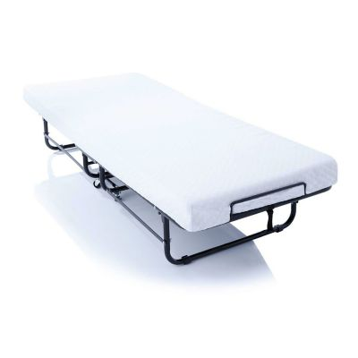 Rollaway Guest Bed with Memory Foam Mattress