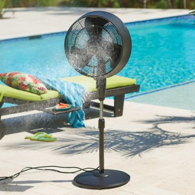 Ultra Quiet Outdoor Misting Fan
